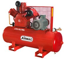 Airmac model AMT55 Oil Free Air Compressor